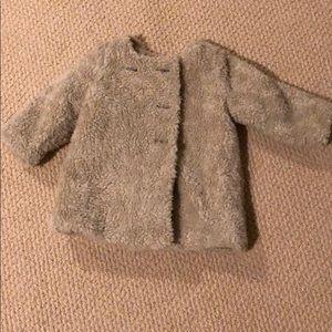 Baby Gap 6-12 Months Fur Coat